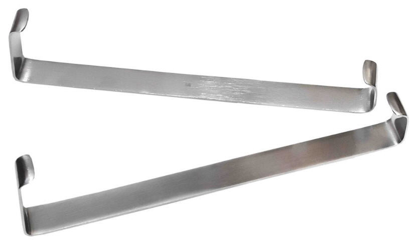 Крючок пластинчатый по Фарабефу, парный, 165 мм