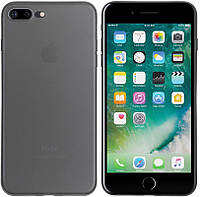 Чехол-накладка TOTO Ultra Thin TPU Case iPhone 7 Plus/8 Plus Black