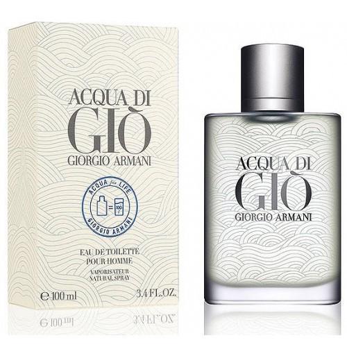 Мужская туалетная вода Giorgio Armani Acqua di Gio Acqua for Life (современный, мужественный аромат) копия