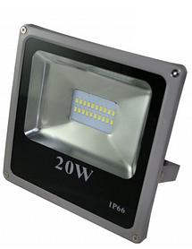 Светодиодный прожектор 20 Вт smd5730 6500К