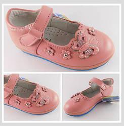 Туфли для девочки, кожа, р. 21 - 24