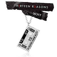 Кулон аудиокассета 13 причин почему , фото 1