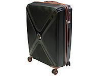 Антиударный чемодан из полипропилена большого размера Snowball 62608 (Франция), фото 1