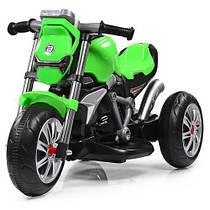 Детский трехколесный мотоцикл BAMBI M 3639-5 зеленый