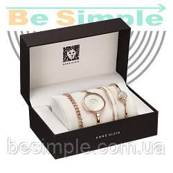Часы Anne Klein с браслетами в подарочной упаковке