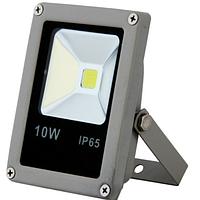 Cветодиодный led прожектор 10 Вт Slim (тонкий) 6500К