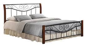 Кровать Ленора 1600*2000 М (каштан), фото 2