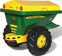Прицеп для песка зеленый Rolly Toys 125111