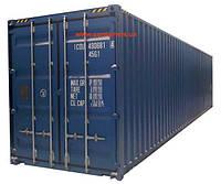 Морской контейнер 40 футов драйвен