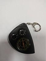 Курвиметр механический, компас, градусник 3в1