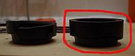 Подушка под передние пружины ВАЗ 2101, Балаково (165РУ) усиленные с чашками (пара)