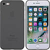 Чехол-накладка TOTO Ultra Thin TPU Case iPhone 7/8 Black
