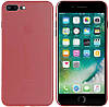Чехол-накладка TOTO Ultra Thin TPU Case iPhone 7 Plus/8 Plus Red