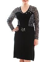 Платье с леопардовой сеточкой, фото 1