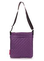 Дутая сумка планшет Фиолетовая Рoolparty