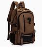 Рюкзак мешковина коричневый
