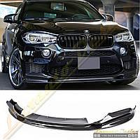 Накладка переднего бампера стиль 3D-design для BMW X5M X6M, фото 1