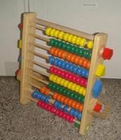 Игрушка деревянные счеты