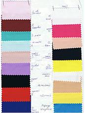 Стрейч Колпак на стол 80*110 круглый из плотной ткани Спандекс, фото 3