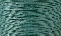 Вощенный шнур темно-зеленый (примерно 80 м)