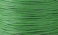 Вощенный шнур ярко-зеленый (примерно 80 м)