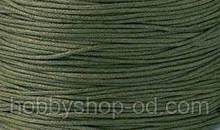 Вощенный шнур защитный темный ( (примерно 80 м)