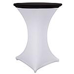 Стрейч Колпак на стол 80/110 круглый из плотной ткани Спандекс