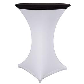 Стрейч Колпак на стол 80/110 круглый из плотной ткани Спандекс, фото 2