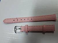 Ремешки цветные для часов  12 мм Розовый