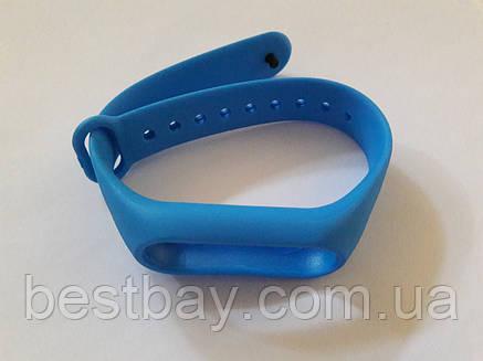 Ремешок для Фитнес-трекера Xiaomi Mi Band 2 Синий, фото 2