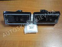 Подфарники ВАЗ 2101 белые Формула света, черный корпус