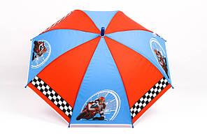Зонт детский машины красный+синий