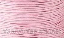 Вощенный шнур розовый (примерно 80 м)
