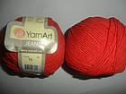 YarnArt Jeans (Ярнарт Джинс)  56 ярко-красный