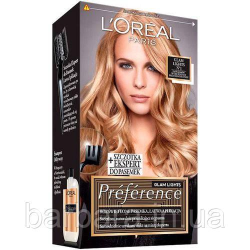 Фарба для волосся L'oreal Glam Lights №1