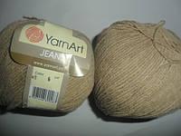 YarnArt Jeans (Ярнарт Джинс) 48 серый беж