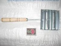 Згребло с деревянной ручкой (30шт)