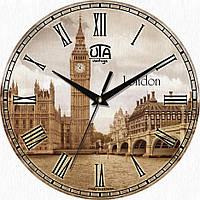Часы настенные Лондон круглые