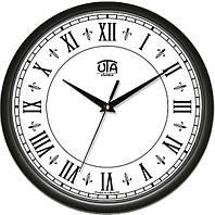 Часы настенные Римские цифры круглые черные
