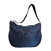 Молодежная сумка для учебы и города 35х26х15 см Синий