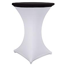Стрейч Колпак на стол 70*110 круглый из плотной ткани Спандекс, фото 2
