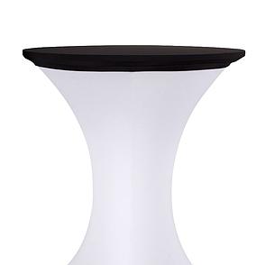 Стрейч Ковпак на стіл 70/110 круглий з щільної тканини Спандекс, фото 2