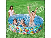 Intex Бассейн детский каркасный, 977 л., 2,25 кг, в кор-ке