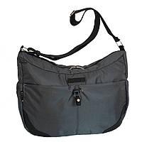 Молодежная сумка для учебы и города 35х26х15 см Серый