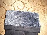 Трикотаж с махра перчатки мужские Anna-мода только оптом, фото 3