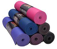 Мягкие и комфортные коврики для гимнастики, фитнеса, йоги, аэробики, разные цвета , очень удобные