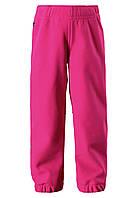 Демисезонные брюки для девочки Softshell Reima OIKOTIE 522235-4620. Размер 92-110., фото 1