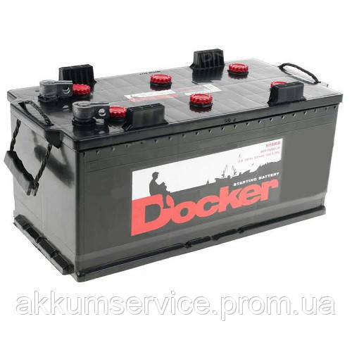 """Аккумулятор грузовой Docker 140AH """"3+"""" 900A"""
