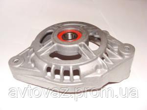 Крышка генератора передняя ВАЗ 2110, ВАЗ 2111, ВАЗ 2112 c подшипником 302 ротор 15 мм КЗАТЭ
