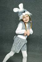 Карнавальный костюм Заяц серый